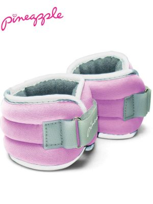 Pineapple Women's Ankle Wrist Weights 3lbs