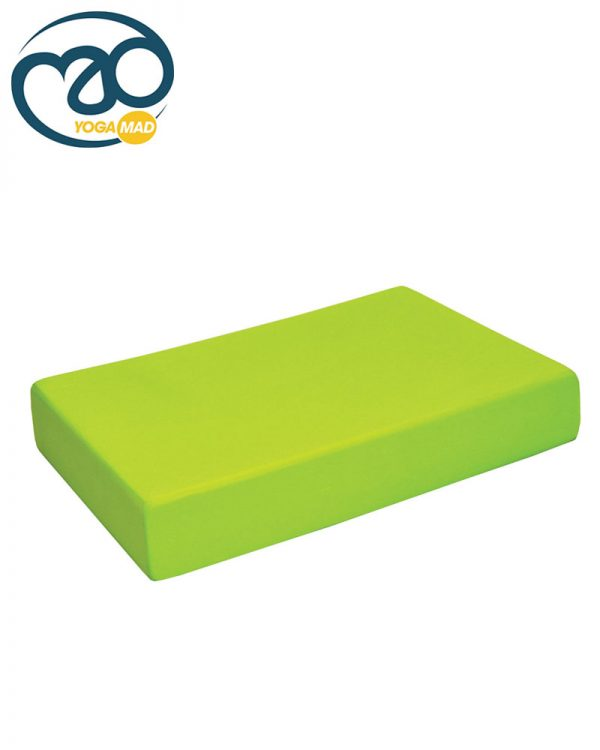 Full Yoga block_Main_LIME_GREEN