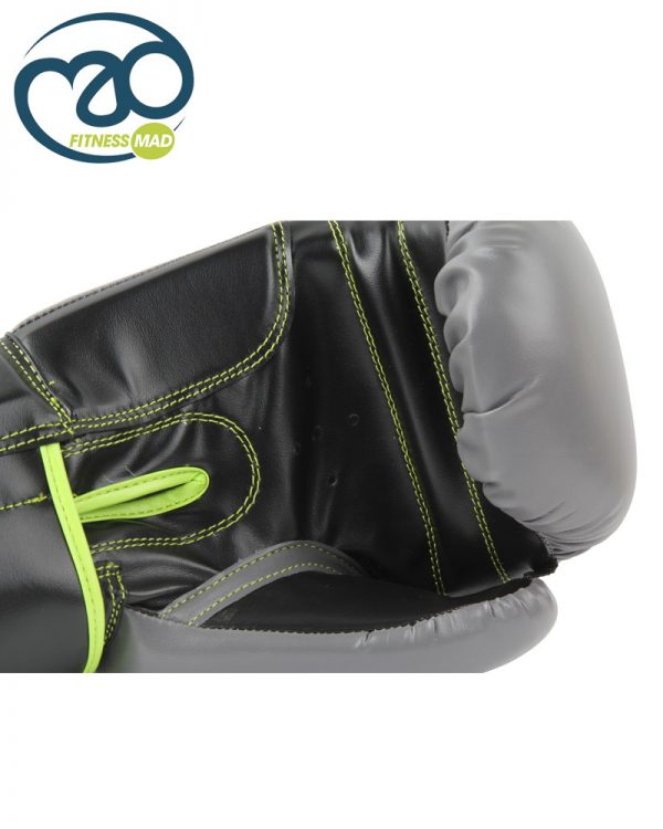 Grey_Green_Leather Sparring Gloves_B