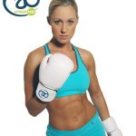 Womens Leather Sparring Gloves_B